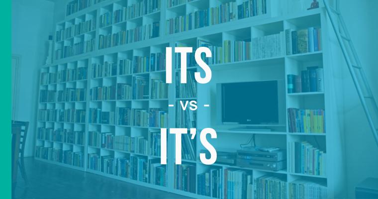 its versus it's
