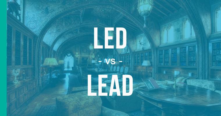 led versus lead