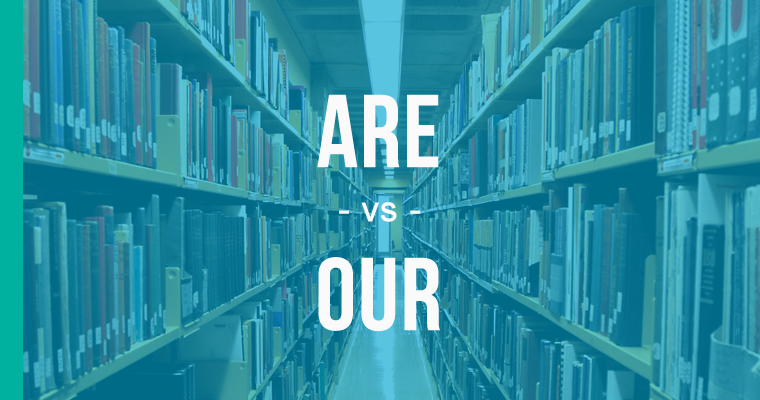 are versus our