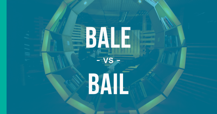 Bale vs  Bail – How to Use Each Correctly - EnhanceMyWriting com
