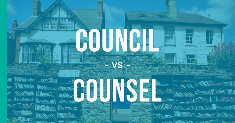 council versus counsel