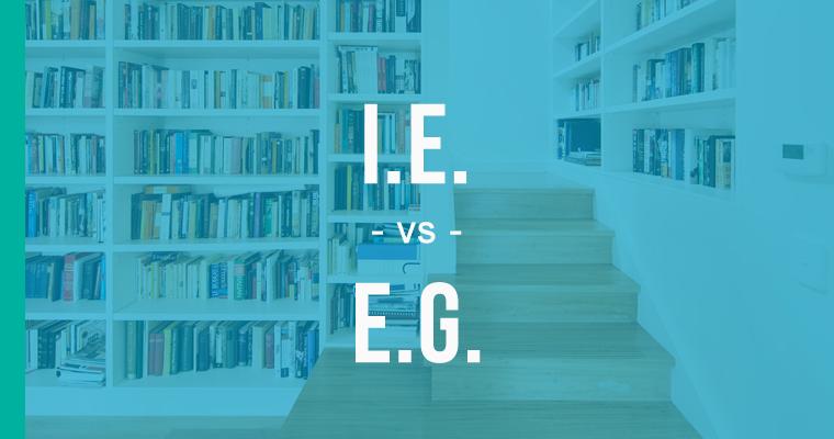 ie versus eg