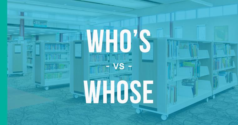 who's versus whose