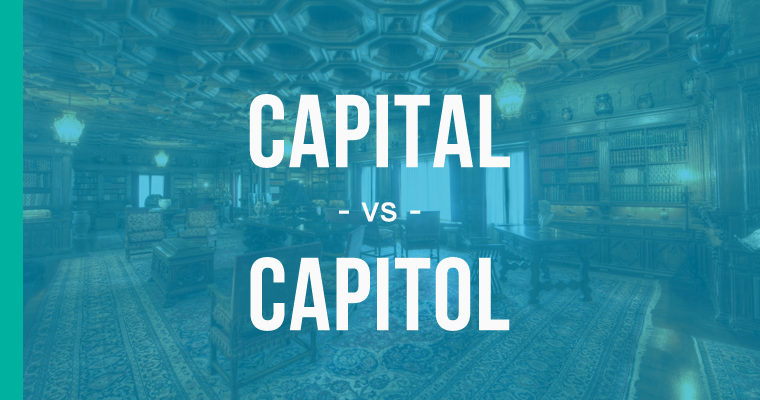 capital versus capitol