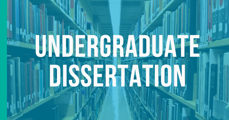 Writing an undergraduate dissertation